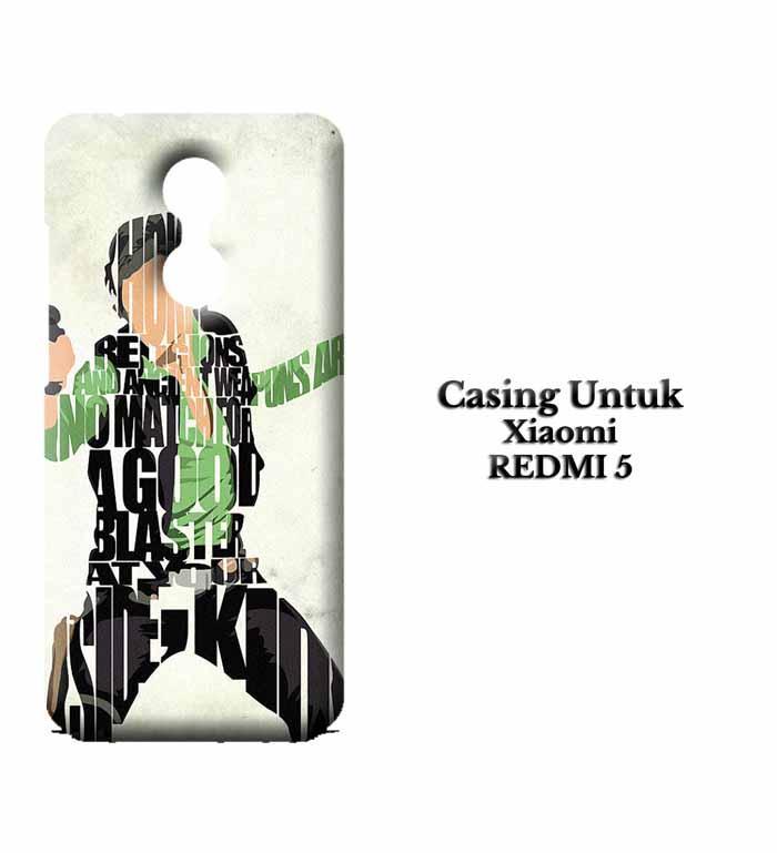 Casing XIAOMI REDMI 5 Han Solo Typography Hardcase Custom Case Se7enstores