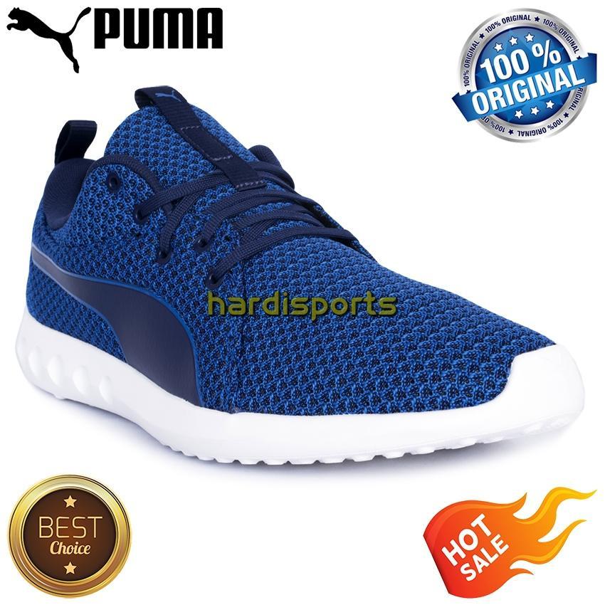 Sepatu Running Pria Puma Carson 2 Knit 190039-01 - Blue 3dc0b4ee86