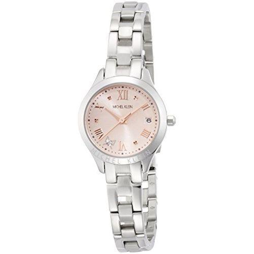 Michel Klang watch quartz diamond containing 3 ATM water resistant AJCT002 Ladies
