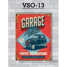 Vasty Hiasan Dinding Kayu Wall Decor Poster Otomotif VSO-13