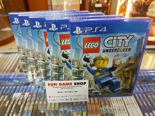 Ps4 Lego City Undercover New