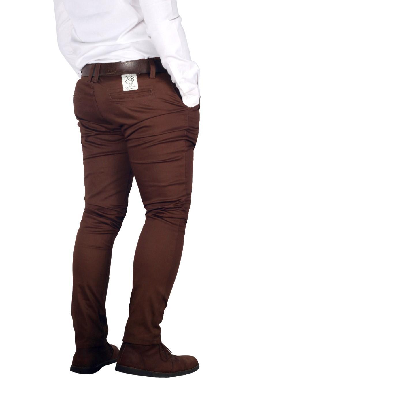 Dgm_Fashion1 Celana Distro CINO Coklat IMPORT/ Celana Skinny/Celana Pants/Celana Santai/Celana Casual/Celana Motif/Celana Polos/Celana Pria/Celana Cino/Celana Pantai/Celana Denim/Celana Jeans RX 5420