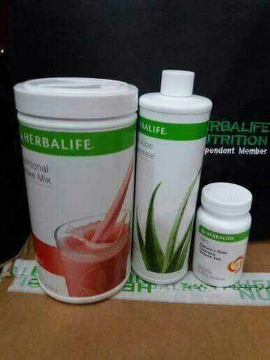 Hemat 10%!! Paket Susu Herba Life Susu + Aloe +Nrg - ready stock
