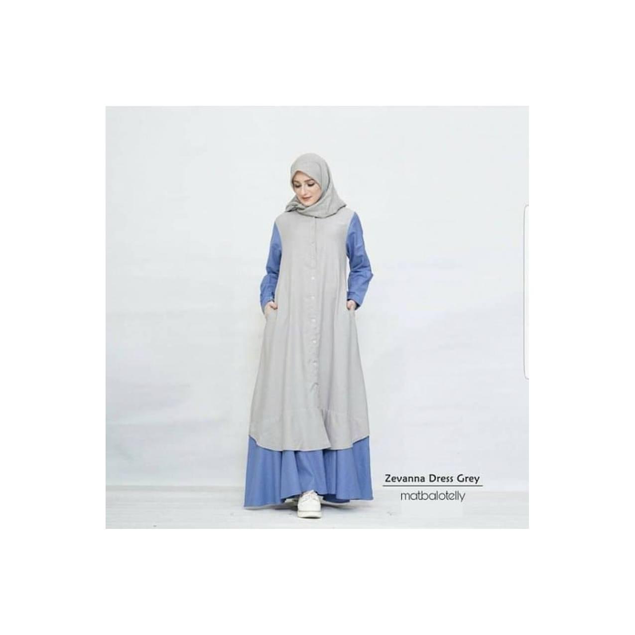 SPESIAL Gamis Jumbo Ukuran Besar sampai LD 135 Zevanna Dress yang