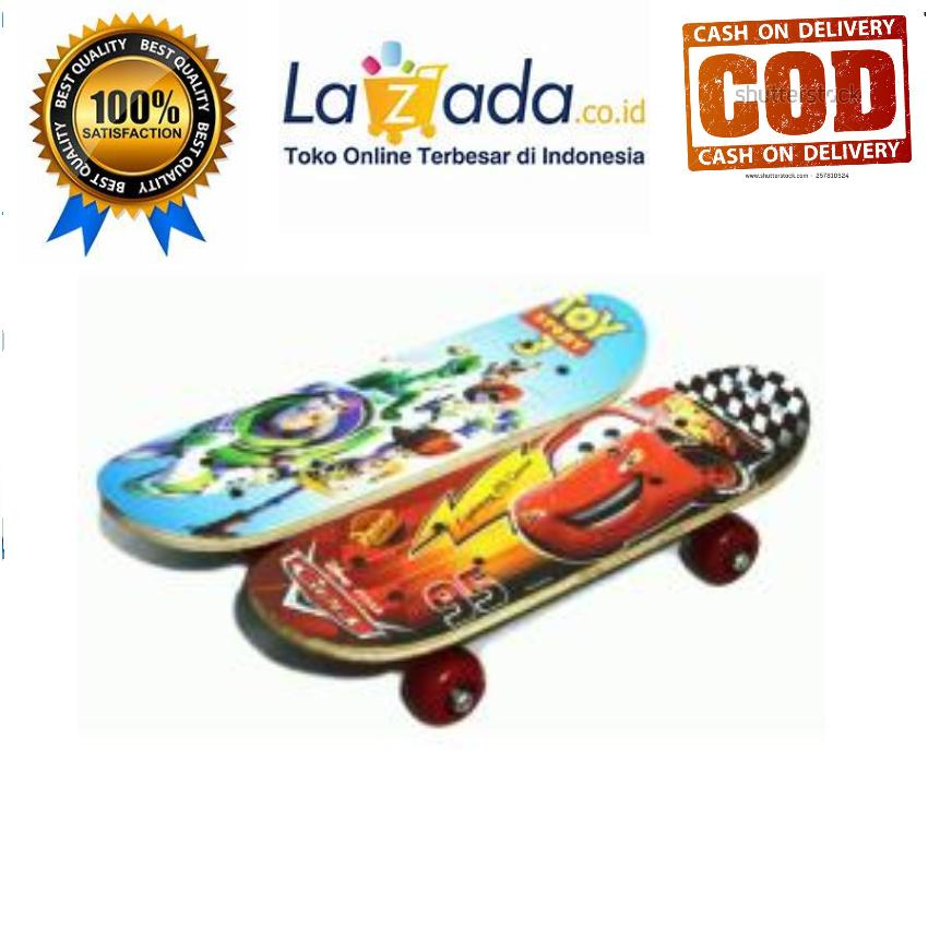 Skateboard Anak Ukuran Small Original Random By Andesta Shop.