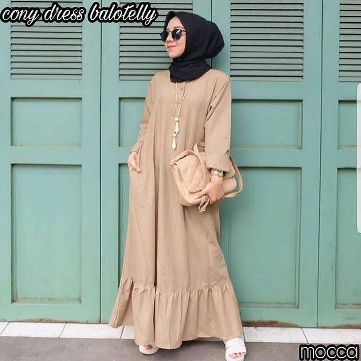 Jual Murah Baju Muslim Murah/Grosir Baju Muslim Murah/CONNY GREY