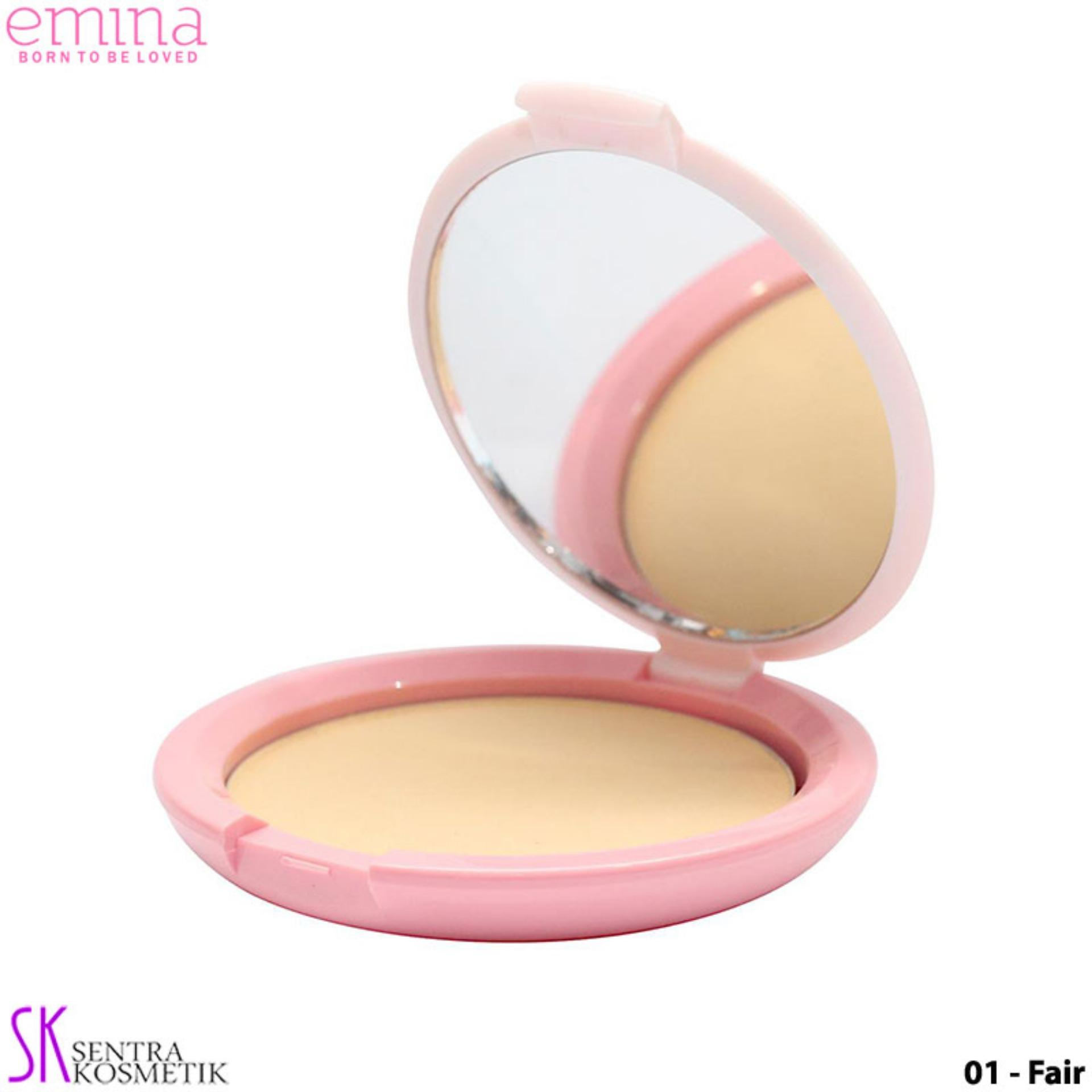 EMINA Bare With Me Mineral COMPACT POWDER 01 - Fair