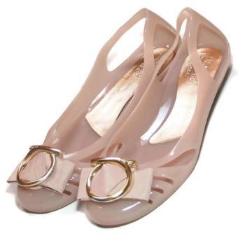 Pencarian Termurah Flat Shoes Jelly Wanita Gold Ring Sepatu Balet TG42 harga penawaran - Hanya Rp55.485
