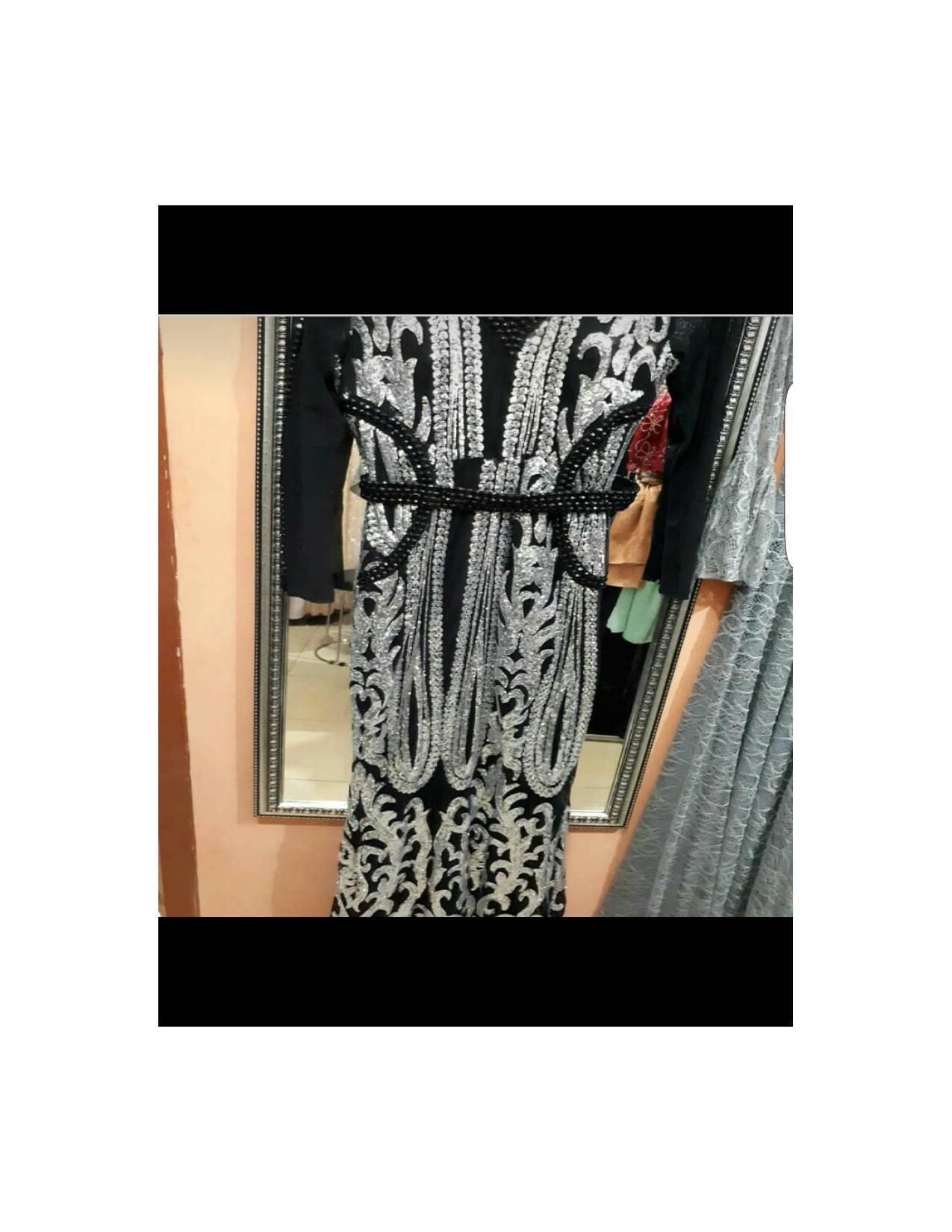 gaun cantik maroko801/gaun elegan