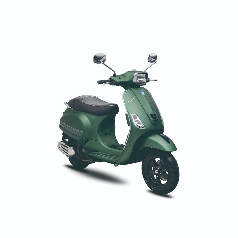 Vespa Piaggio S 125 i-Get Verde Matt - Bekasi