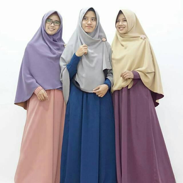 (TERBARU) DISKON | Gamis Hari Hijab Alila (Chat untuk stok)