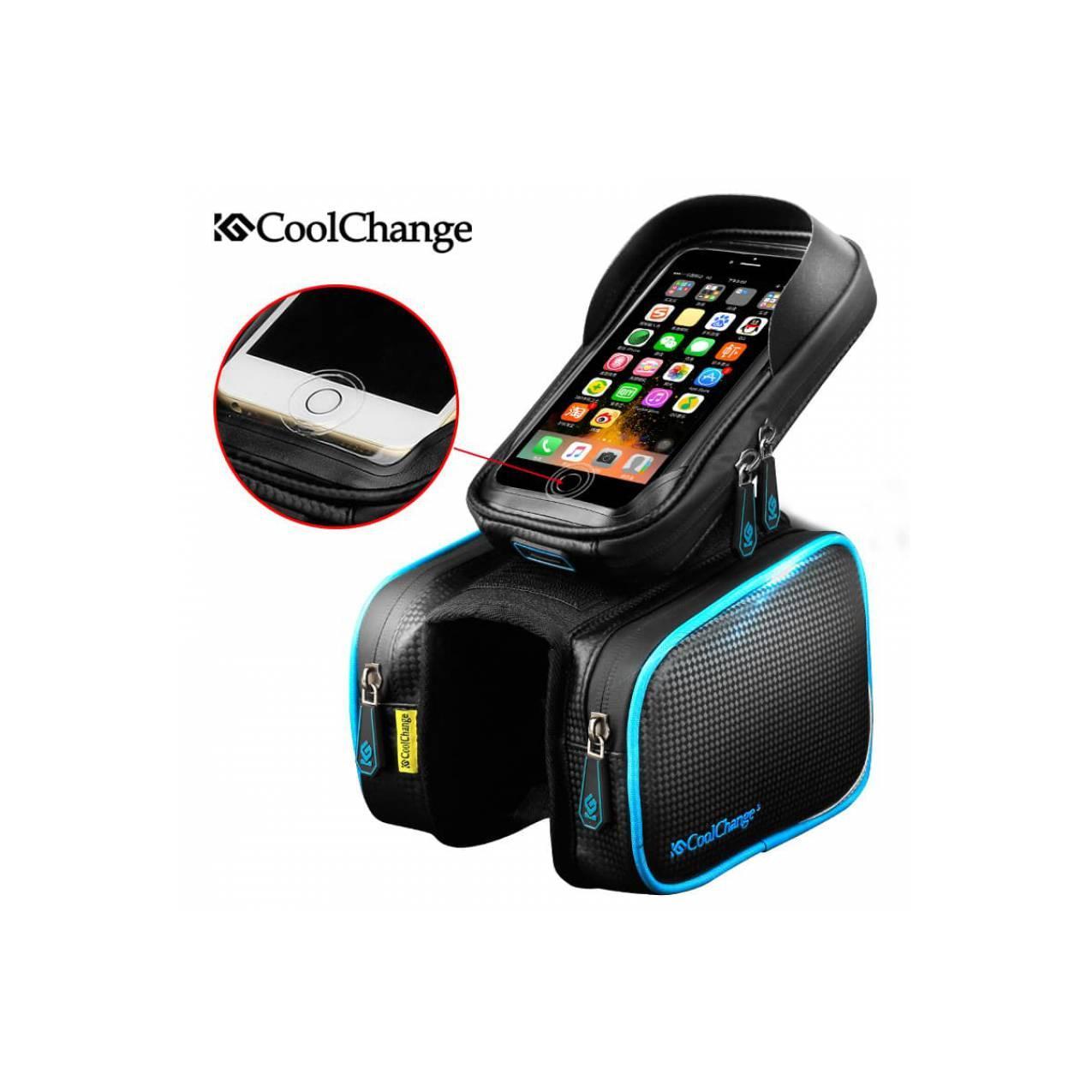 CoolChange Tas Sepeda Fingerprint Support Smartphone 6 Inch - 12019N