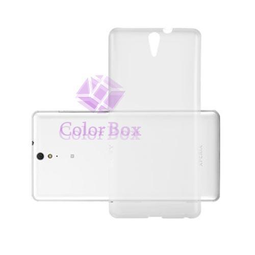 MR Sony Xperia C5 Jelly Case Softcase Softshell - Transparan