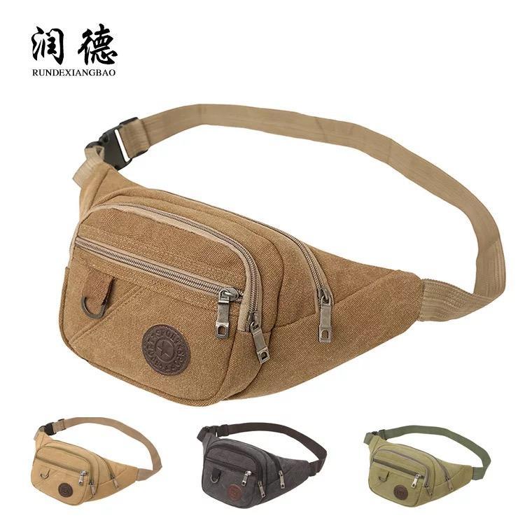 70 barang ditemukan dalam Polo Army · Tas Slempang Bahu Dada 006 Korean  Fashion Sling Bag Kanvas Unisex Man - KHAKI 6edc28865f