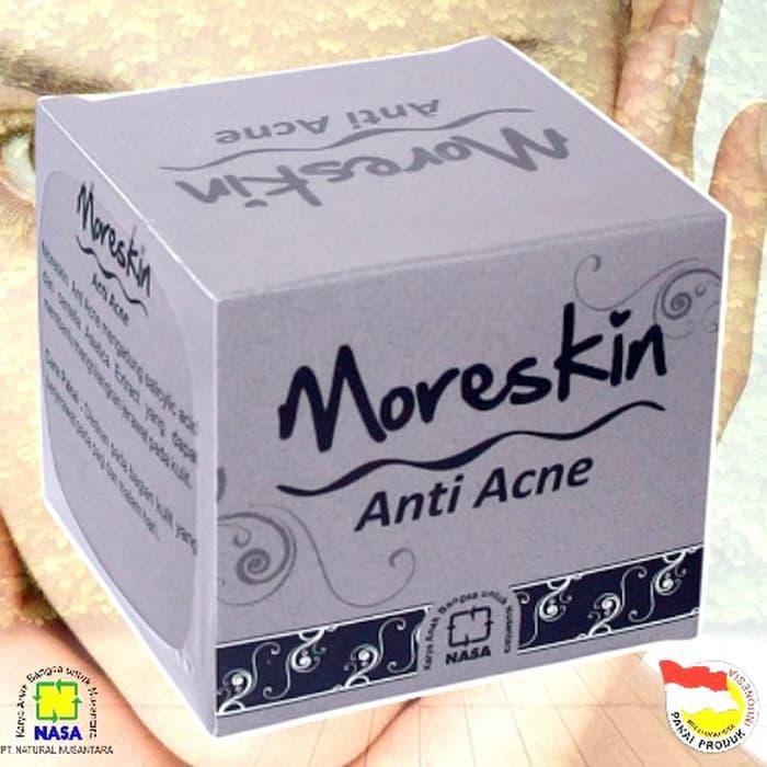 Moreskin Anti Acne Original Nasa Khusus Kulit Berjerawat 80 By Efni Herbal Nasa.