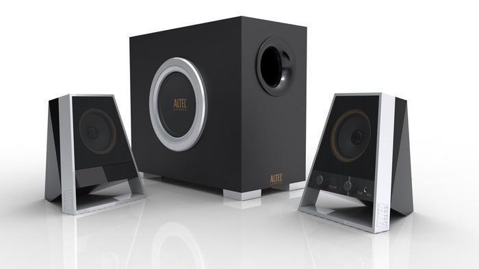 Popularitas Terlaris Speaker Aktif Altec Lansing Vs2621 2.1 Channel Speaker System