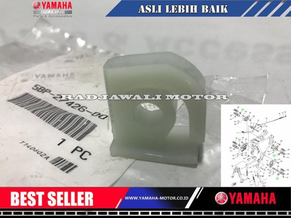 Promo PLASTIK FOOTSTEP SCORPIO ASLI YAMAHA - ready stock