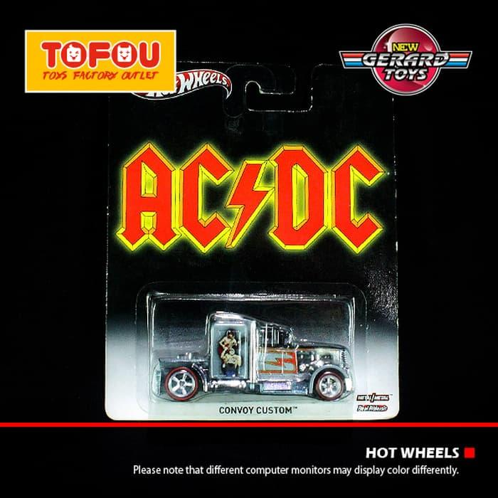 Terbaru!! Convoy Custom - Acdc - Hot Wheels - Mattel - Moc - ready stock