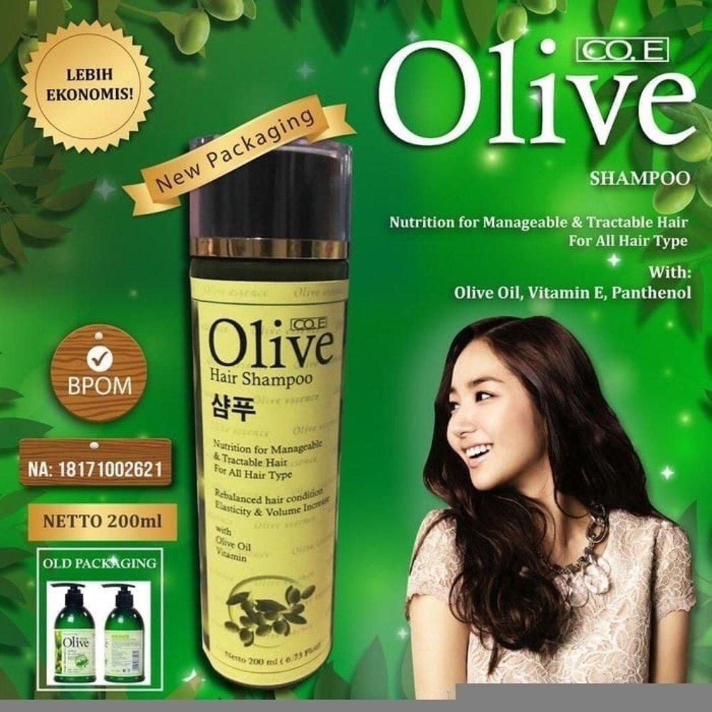 Olive Shampo - Shampoo Pemanjang Rambut Dan Memperkuat Rambut - 1 Botol  200ml 8961d39c13