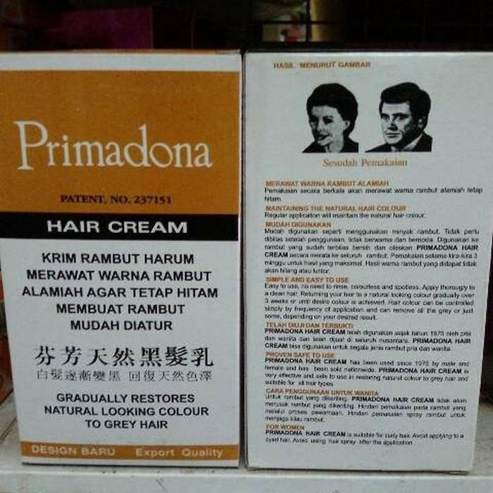 Kidstafun - PRIMADONA HAIR CREAM / PENGHITAM RAMBUT HARUM azzh - Multicolor