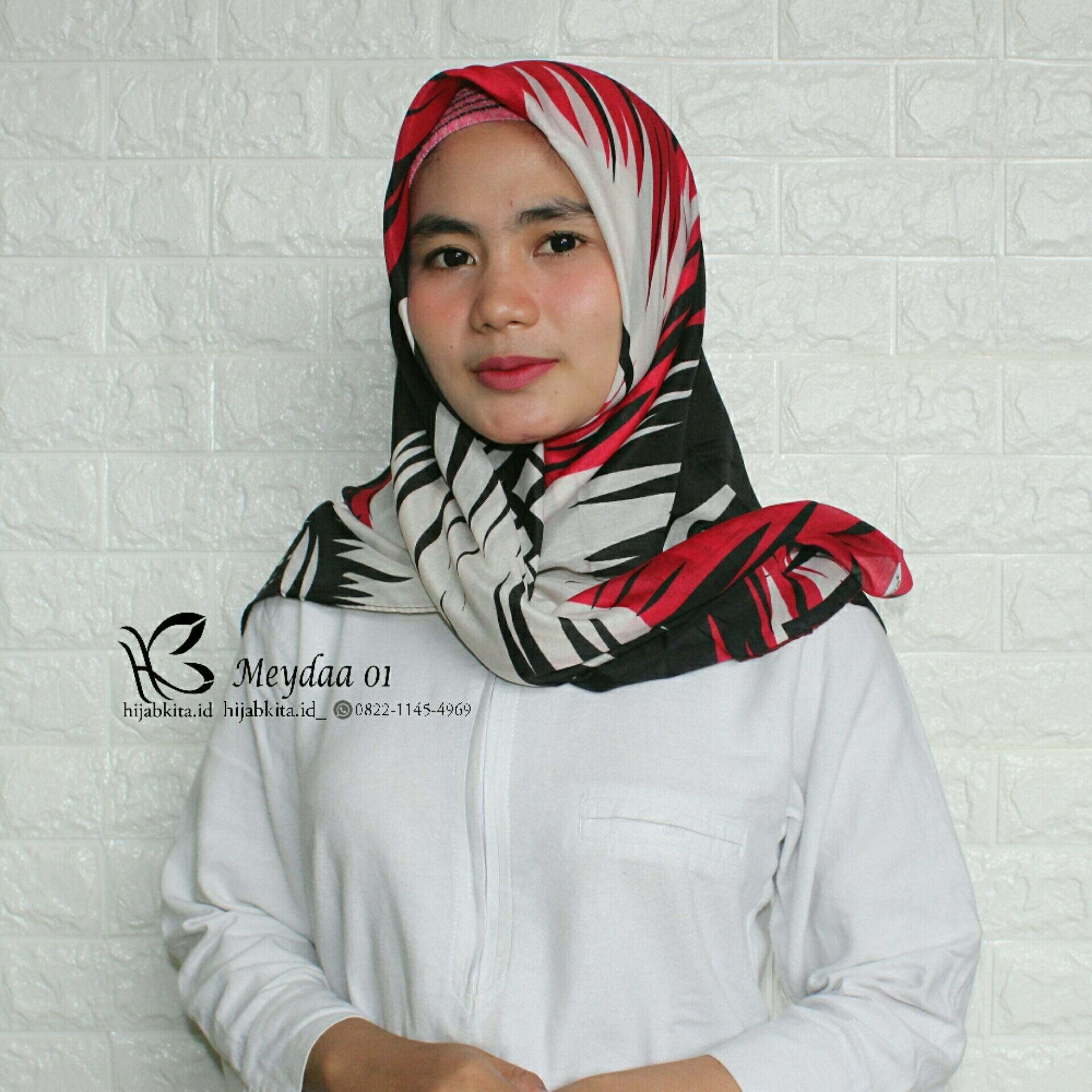 Hijab Segiempat Umama Motif Coklat Daftar Harga Terkini Dan Eclemix Jilbab Cornskin 1 Scarf Square Segi Empat Cokelat Muda