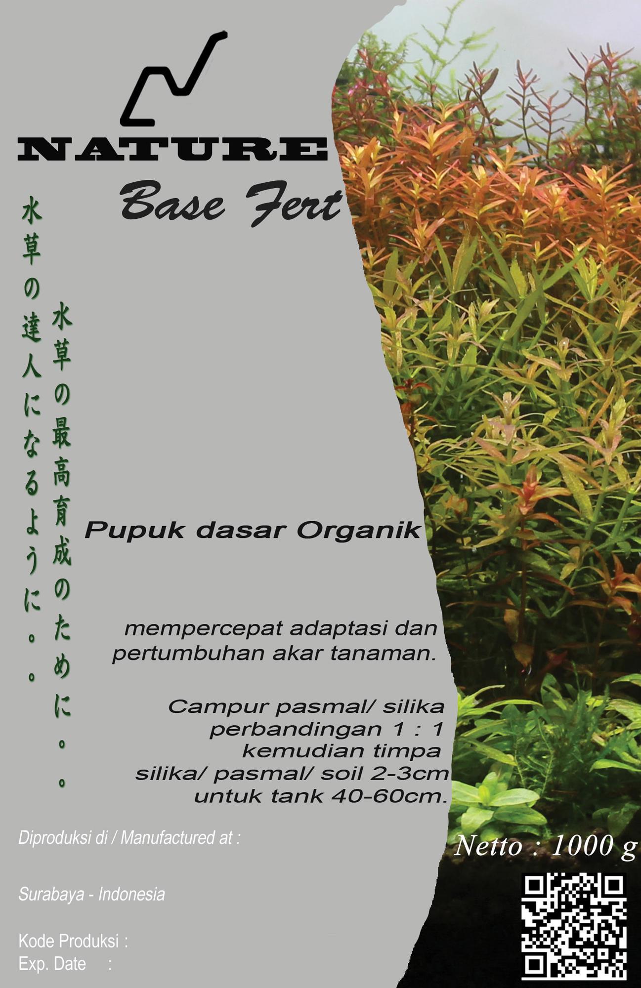 ESS - Pupuk Dasar Organik untuk Tanaman Air (Nature Base Fert)
