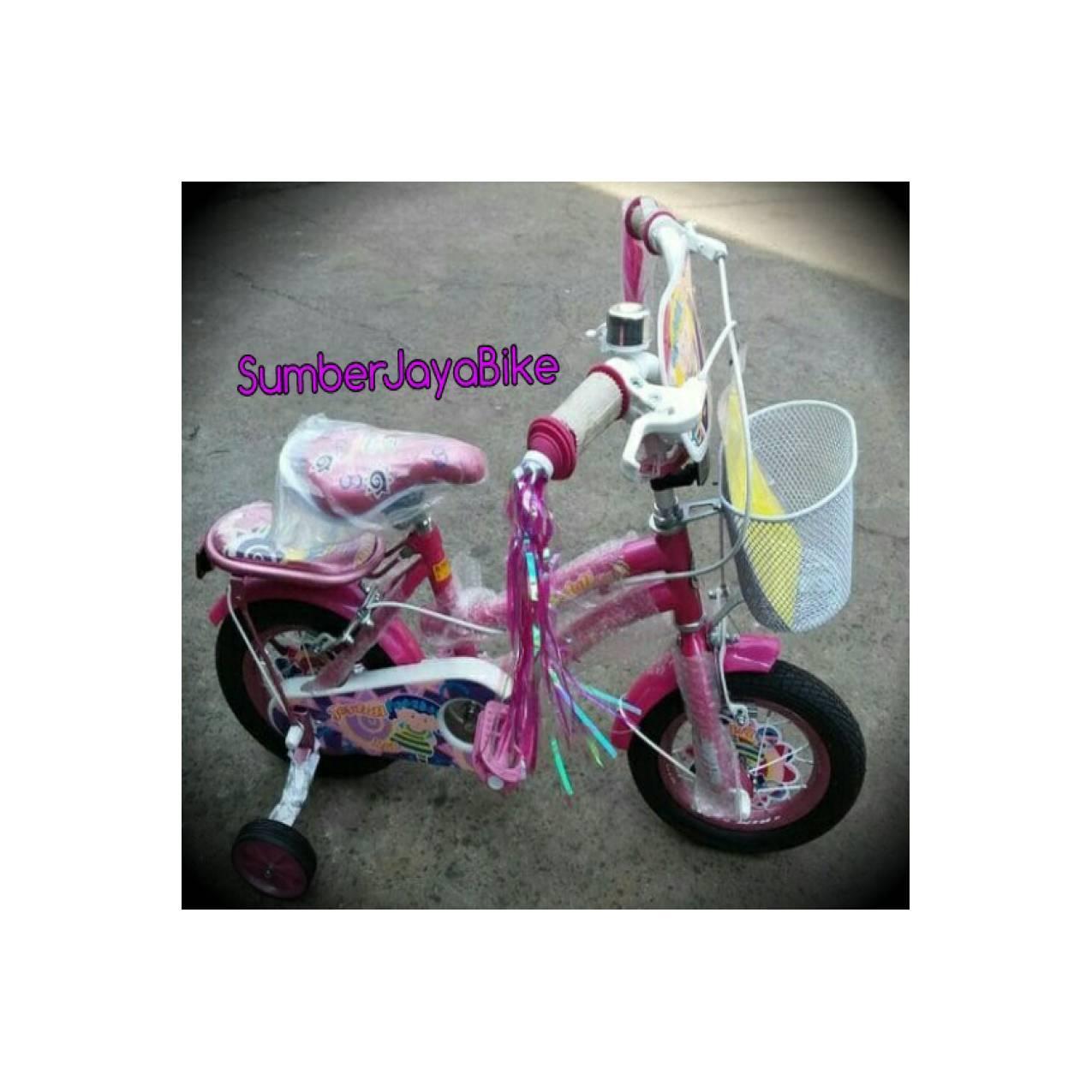 sepeda anak mini 12 united joyfull new