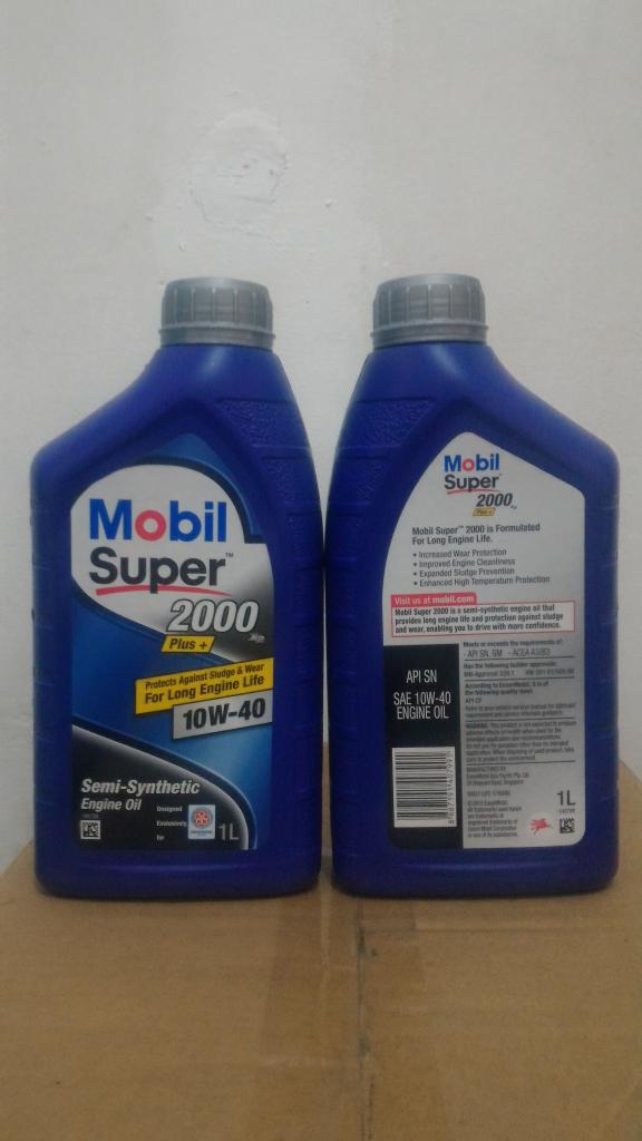 Best Seller...!!! Oli Mobil Super 2000 Plus SAE 10W40 API SN kemasan