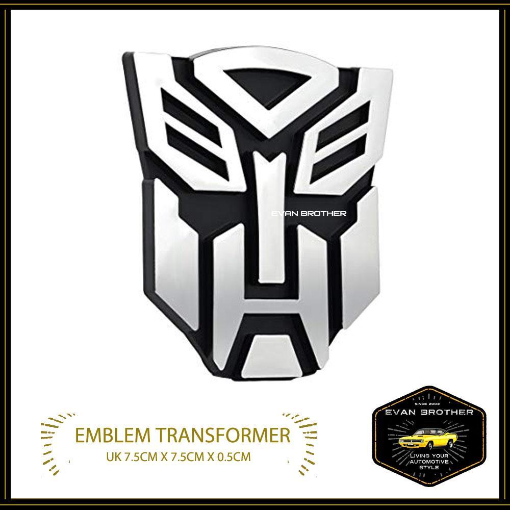 Emblem mobil transformer 3d premium