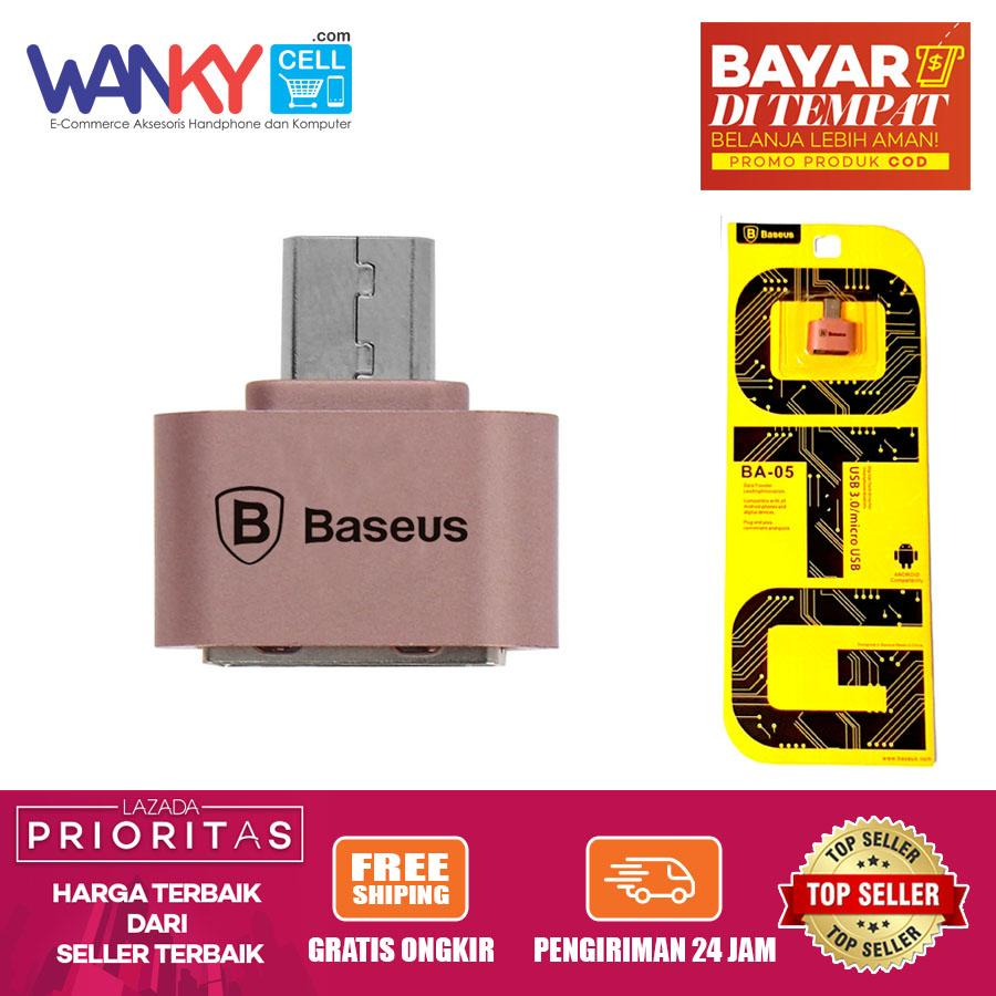 Baseus OTG Micro To Female USB 3.0 FLash Drive Transfer Data
