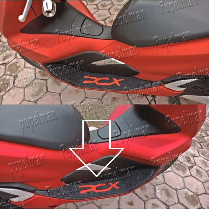 ... Aksesoris PCX Footmat Border Bordes Karpet Step Pijakan Alas Kaki Injakan Foot mat Asesoris Motor Acessoris