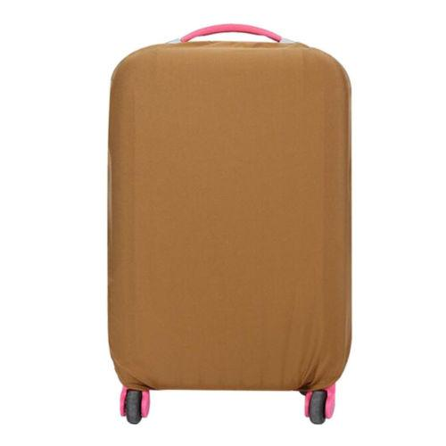 FIRSTPROJECT Safebet Sarung Pelindung Koper Kain Polos Elastis/ Luggage Cover Protector Elastic Suitcase M for 22-24 Inch