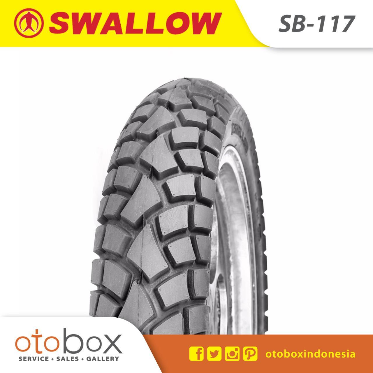 Ban Motor Tubetype Swallow 80/90-17 SB117 Street Enduro TT