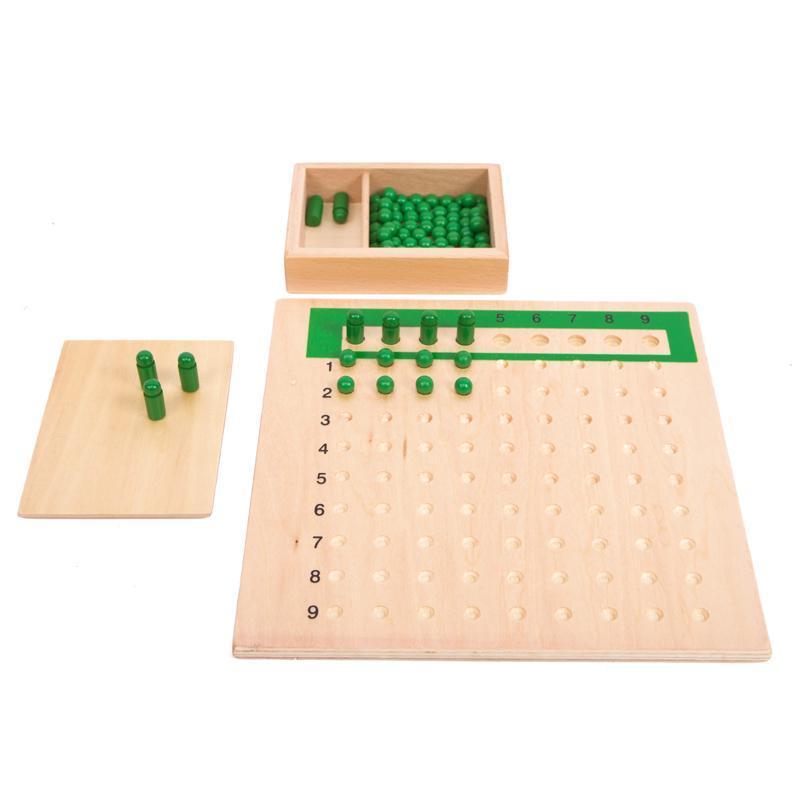 Rp 130.300. Mongolia dan Taiwan Montessori Montessori pendidikan usia dini matematika Mainan bayi 乘除法 Board 3 tahun bayi muda anak-anak ...