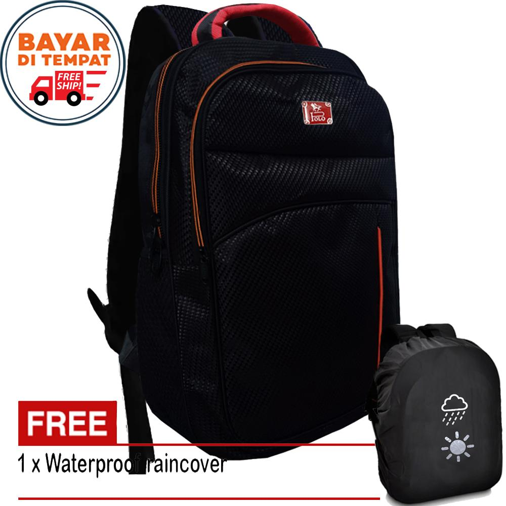 Free Shipping - Polo Backpack P1313 Tas Pria Tas Wanita Tas Ransel Pria Tas  Ransel Wanita 834ba557e5