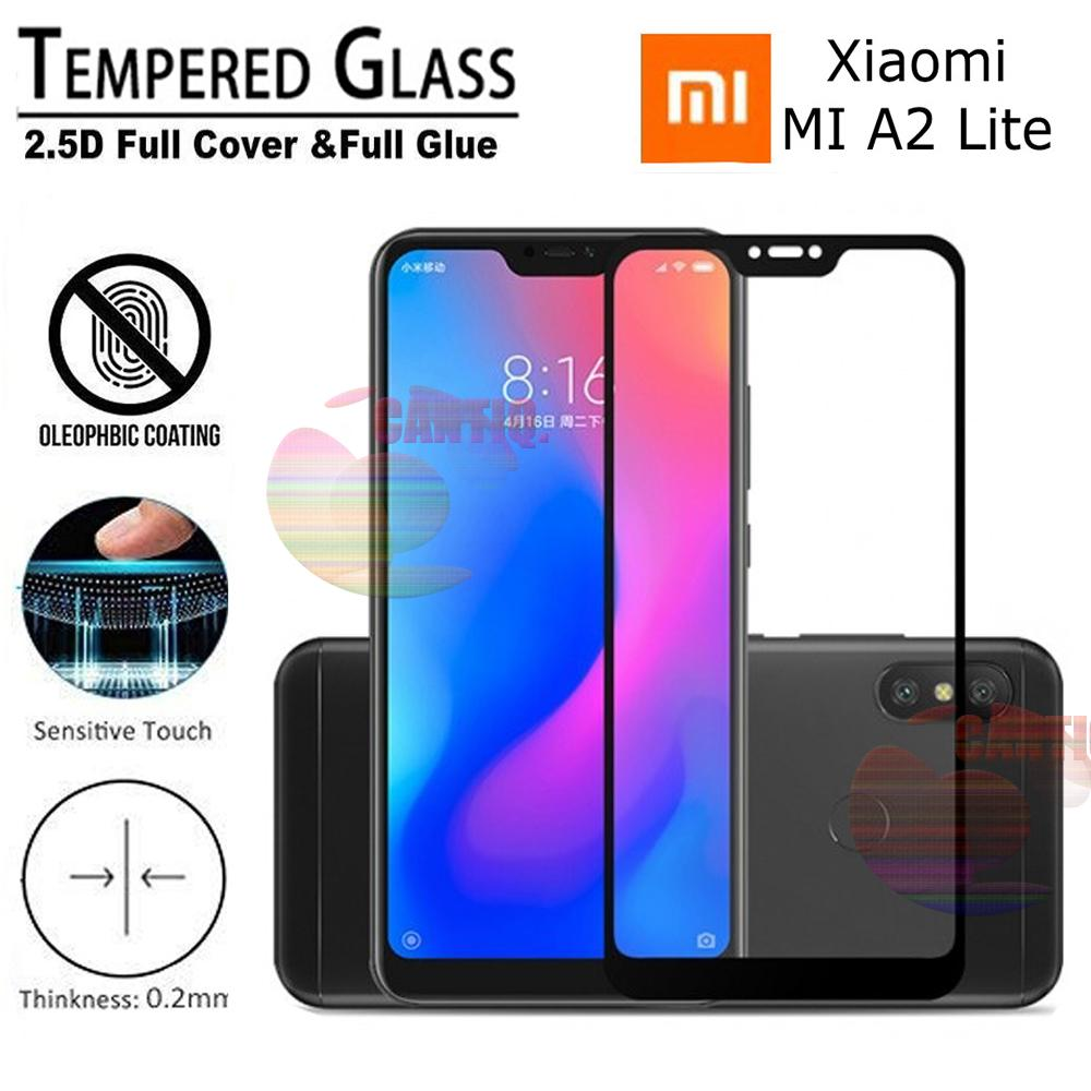 Pelindung Layar Handphone Tablet Log On Anti Shock Screen Protector Gores Iphone 7 Plus Depan Tempered Glass Full Black Xiaomi Mi A2 Lite 9h Kaca