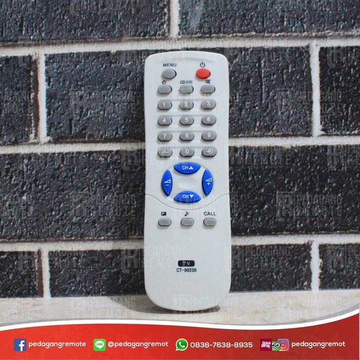 Terbaru!! Remot Remote Tv Toshiba Tabung Bomba Ct-90230 Kw Super - ready stock