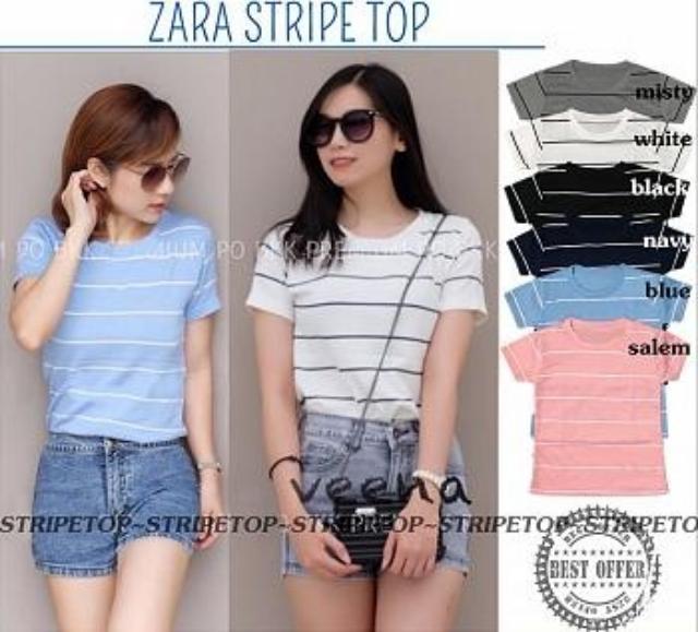 Newone Shop Stripe Top - Baju Atasan Wanita - Fashion Perempuan - Baju  Wanita Terbaru - 39ad55bac6