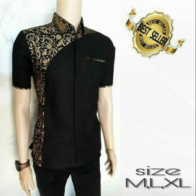 Model Baju Batik Terbaru / Baju Batik Modern / Batik Masa Kini / Baju Batik Pria Keren / Batik Modern / Baju Batik Kombinasi