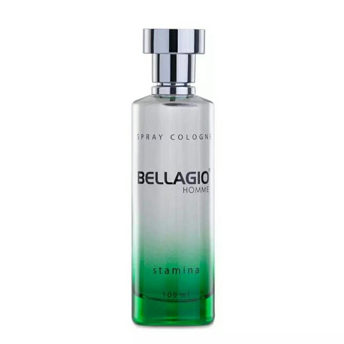 BELLAGIO STAMINA spray cologne ( 100ml ) hijau