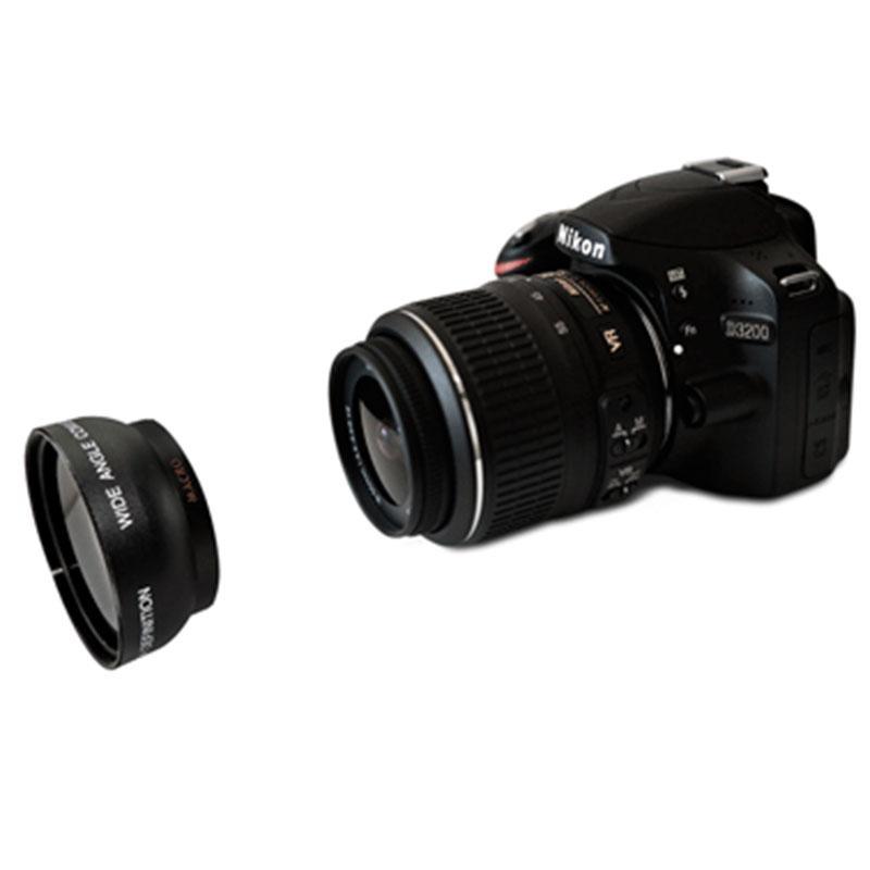 52 Mm 2x Telefoto Tele Konverter Lensa untuk Nikon D5100 D3200 D70 D40 Kamera DSLR