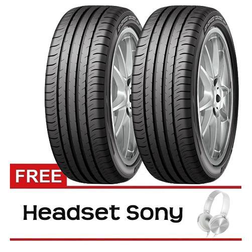 Dunlop SportMaxx 050 215/55 R17 Ban HRV - 2 Pcs + Gratis Sony Headset