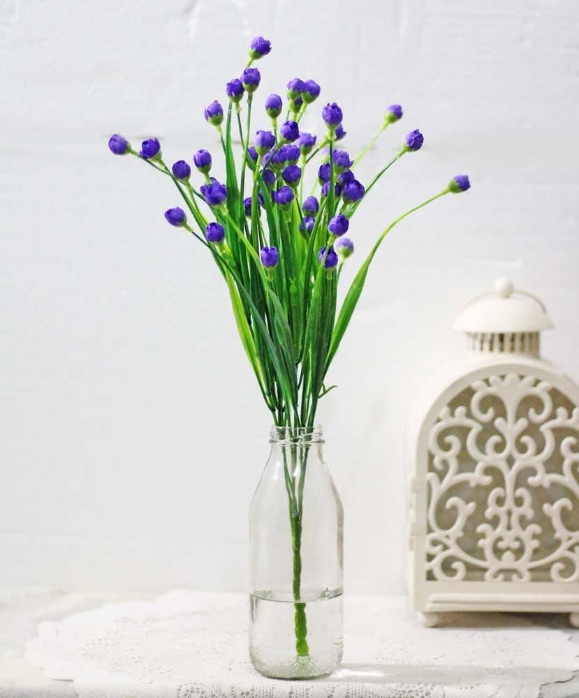 bunga plastik artificial artifisial ilalang shabby chic dekorasi A5-5