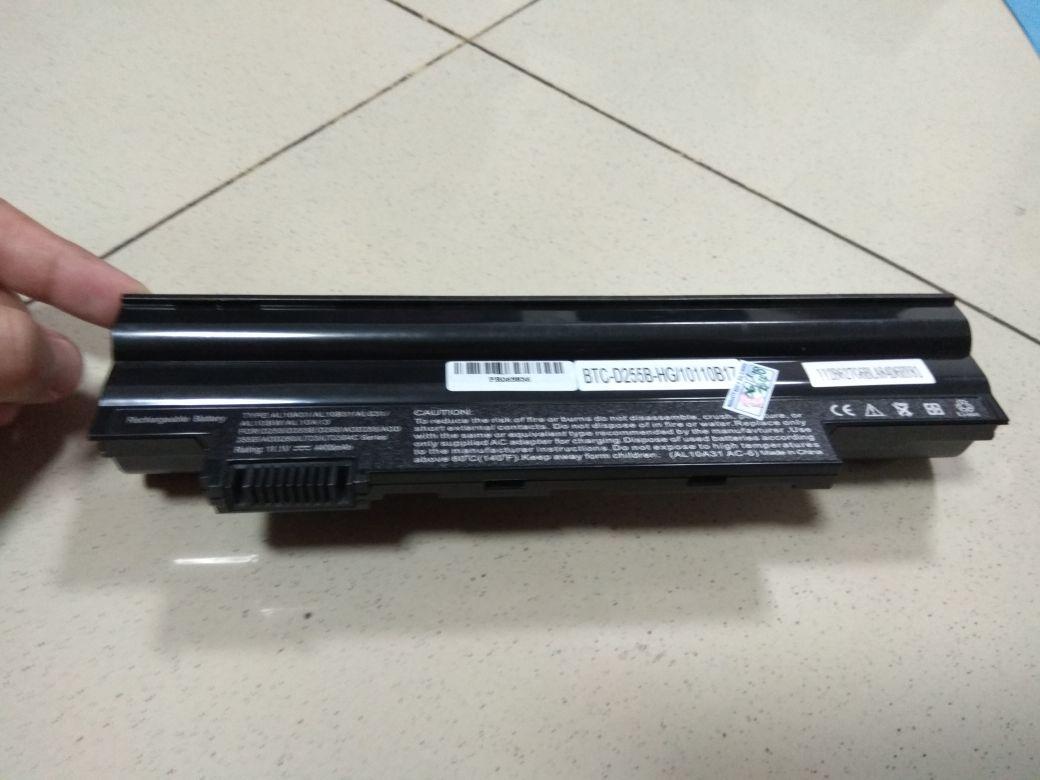 ACER Baterai Laptop Aspire One D255 D260 722 D257 D270 AOD255 AOD257 AOD260 AO257 Black