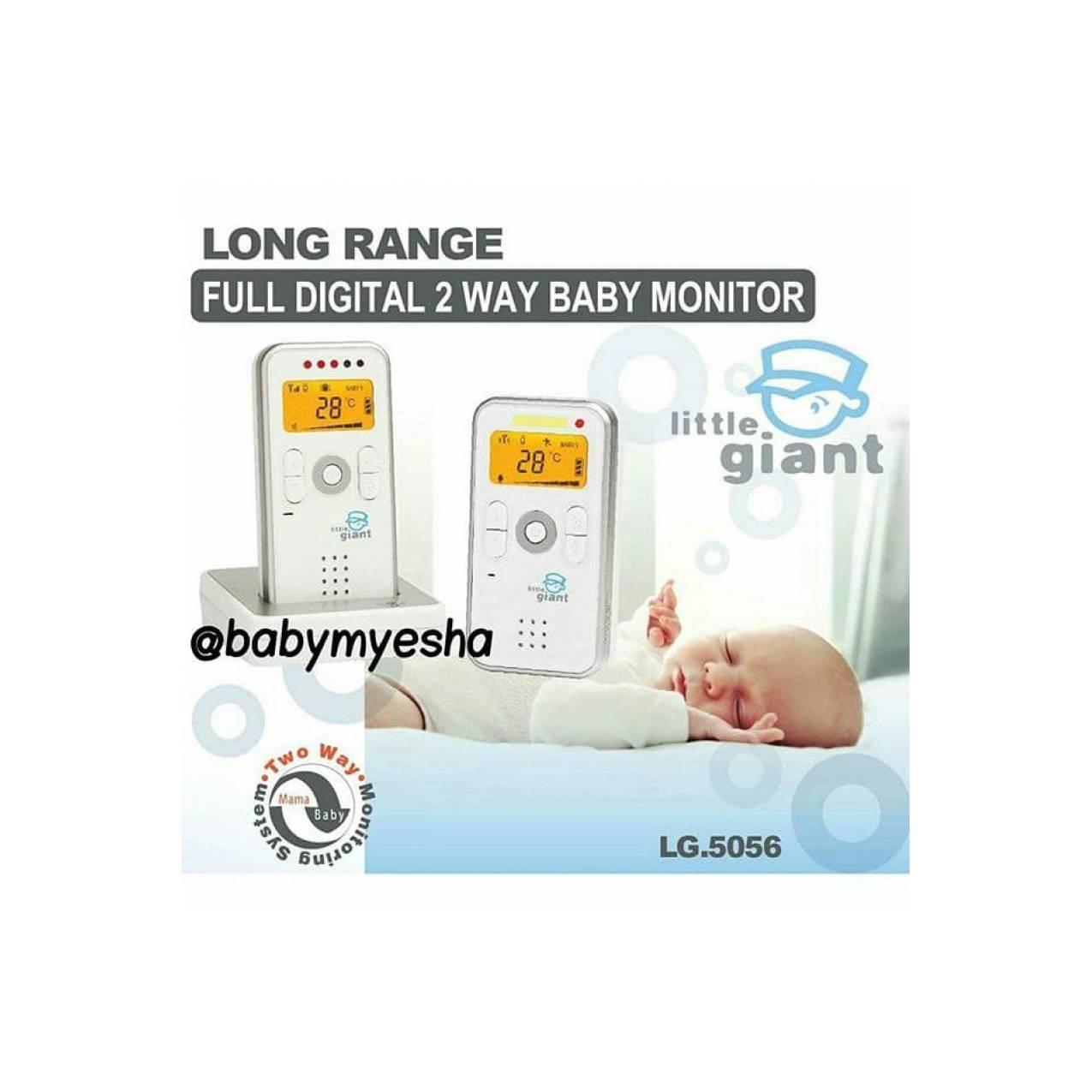 Little Giant Two Way Digital Baby Monitor Alat Kontrol Bayi 2 Arah