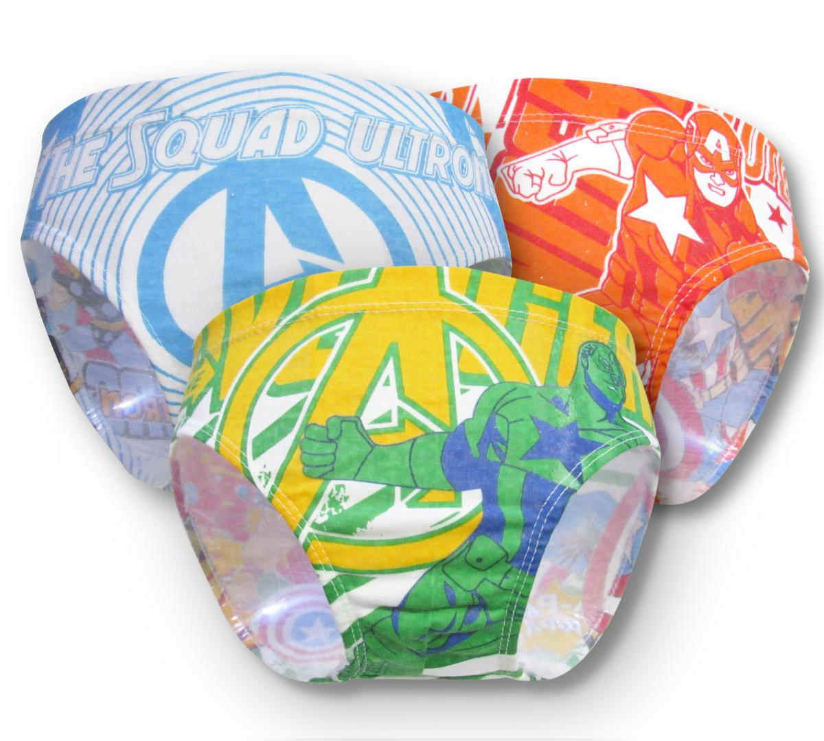Wulanda 3 Pcs Celana Dalam Anak Cd Laki Laki Ridges Kids By Wulanda Baby.