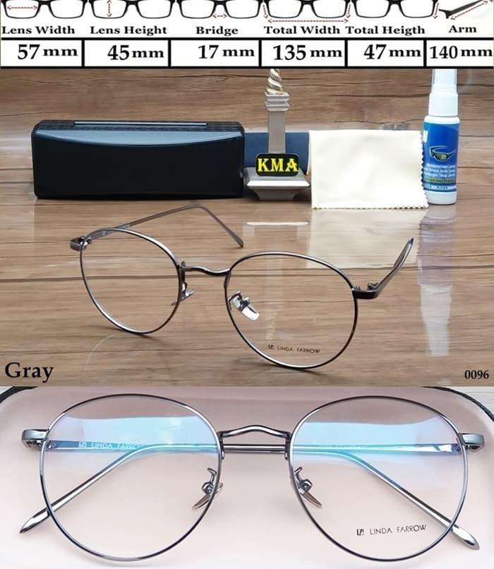 kacamata minus LINDA FARROW FANCY frame kacamata minus linda farrow
