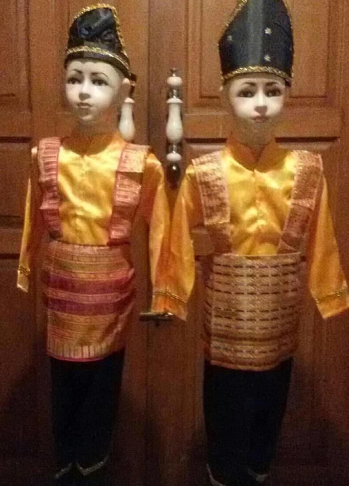 Pakaian Karnaval/ Baju Adat Anak Aceh / tari saman ukuran M