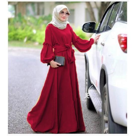 Ayako Fashion Dress Gamis Wanita Murah Baru Trendy Muslim Baloteli Baju Grosir Brenda