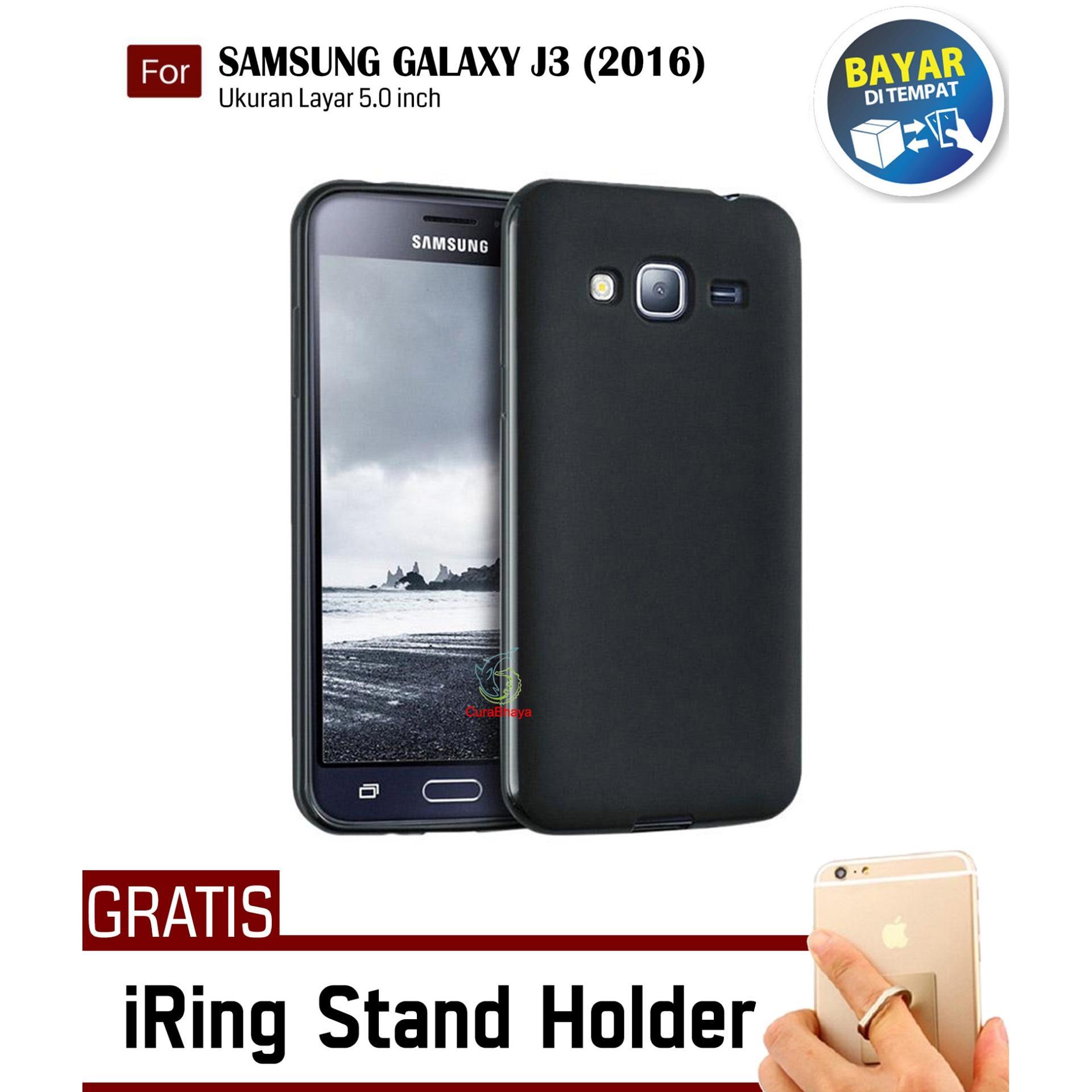 MidNight Samsung Galaxy J3 / J300 / J310 / J320 / Duos| Slim Case Black